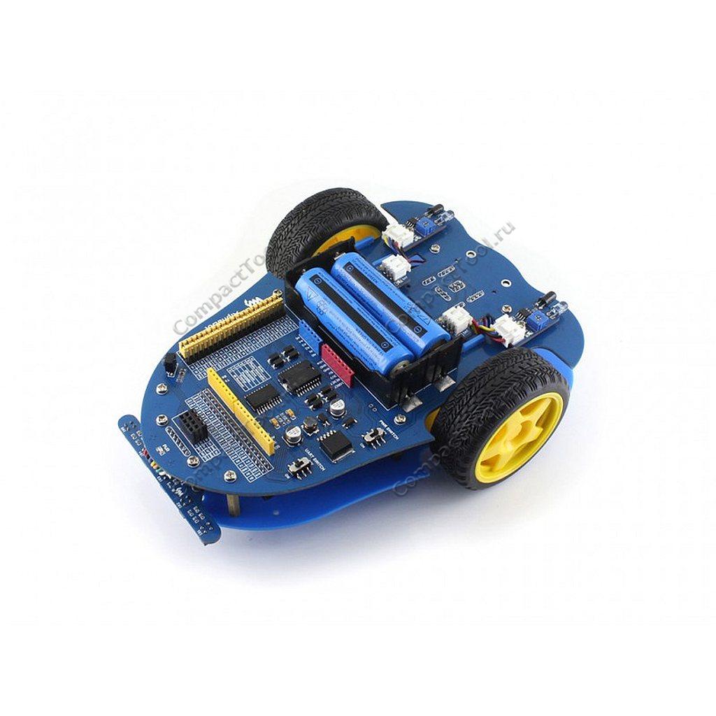 3 колесная платформа для робототехники AlphaBot (базовый)