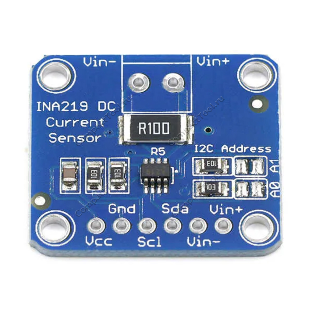 Датчик напряжения и тока CJMCU-219 на чипе INA219
