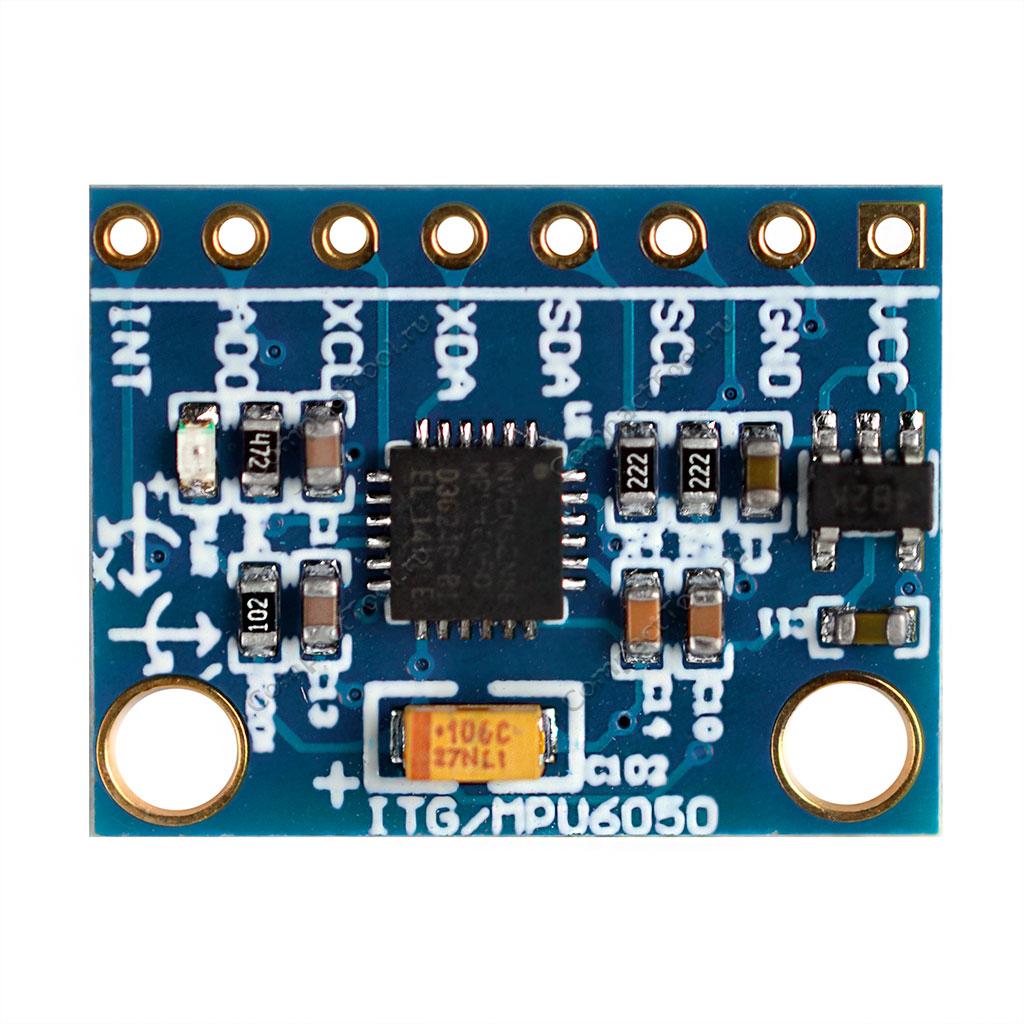 Гироскоп GY-521 чип MPU-6050