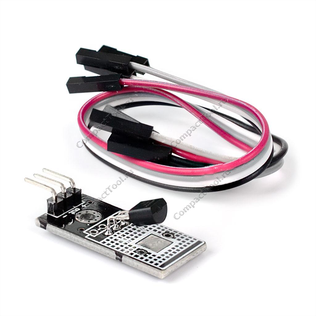Датчик температуры и влажности LM35D аналоговый модуль