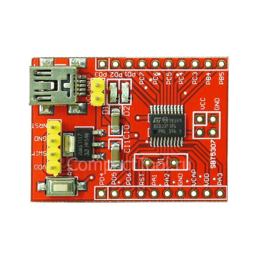 Модуль разработки STM8S чип STM8S103F3P6
