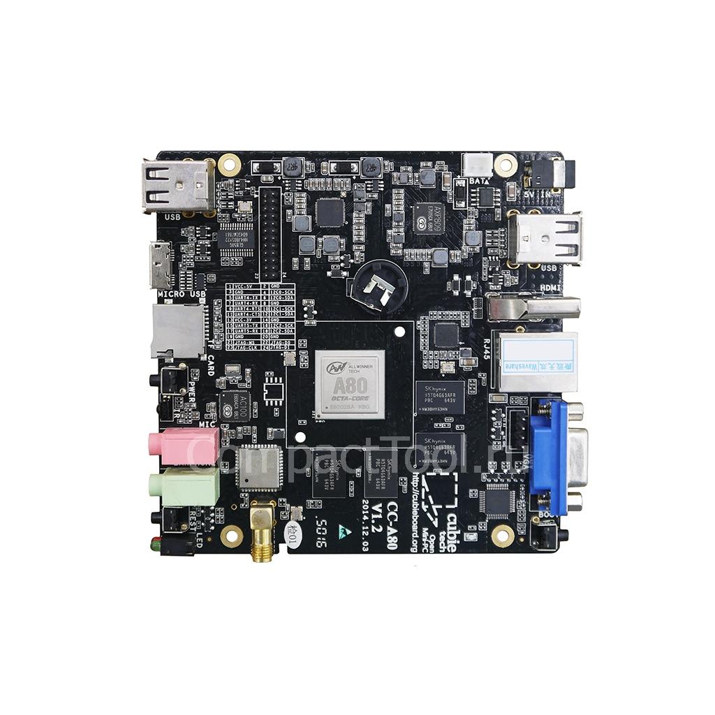 Миникомпьютер одноплатный                          Cubieboard 4 CC-A80