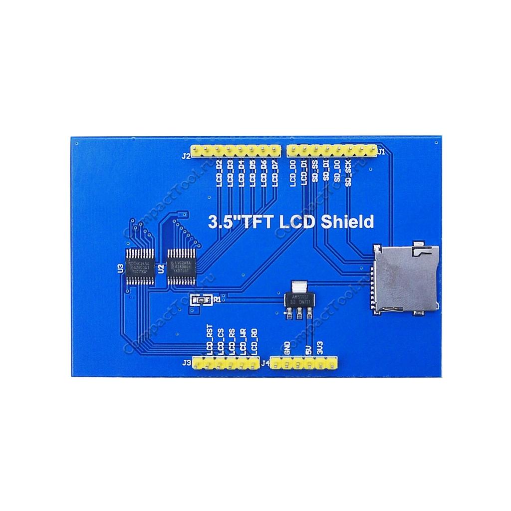 TFT дисплей 3.5 MicriSD SPI