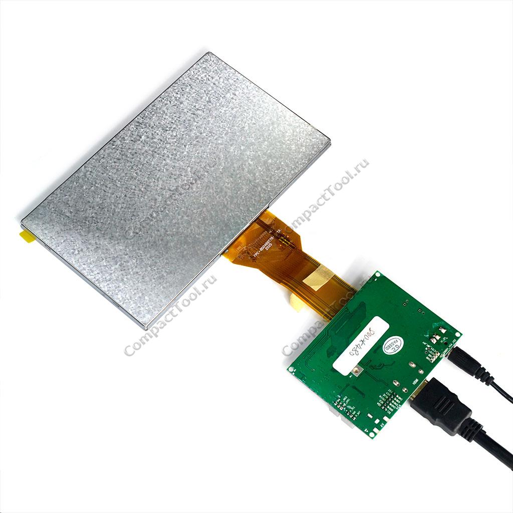 TFT дисплей 7 HDMI высокой яркости