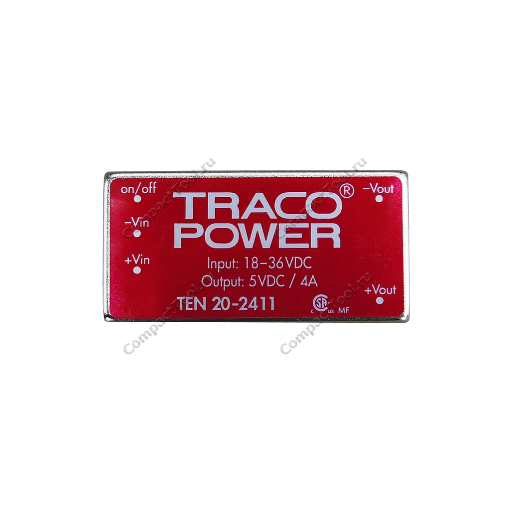 DC-DC преобразователь Traco Power TEN 20-2411