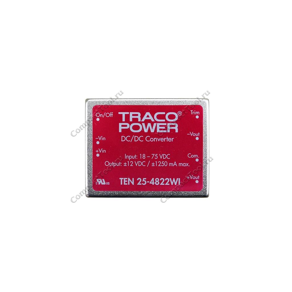 DC-DC преобразователь Traco Power TEN 25-4822WI