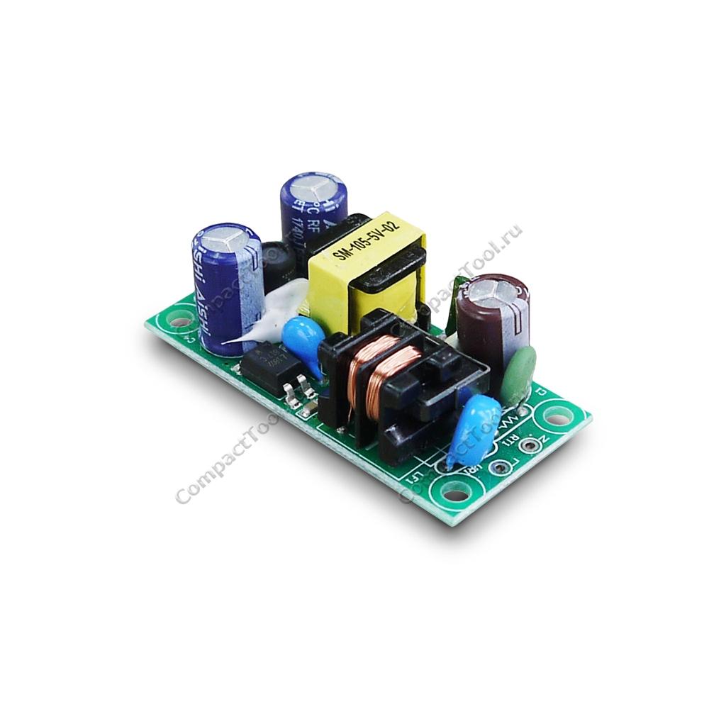Модуль питания импульсный SM-PLG06A 220В 5В 1000мА