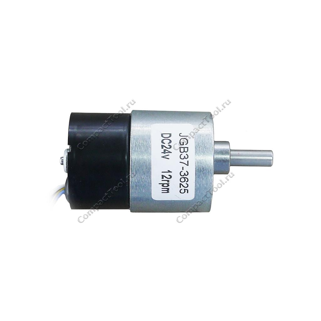 Мотор-редуктор с обратной связью JGB37-3625 24В соотношение 1:506 12 об/мин