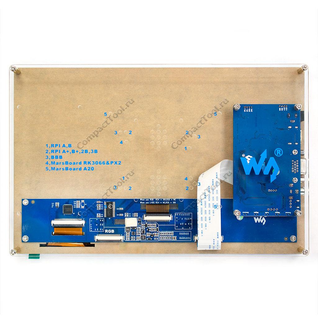 TFT дисплей 10.1 в корпусе HDMI VGA