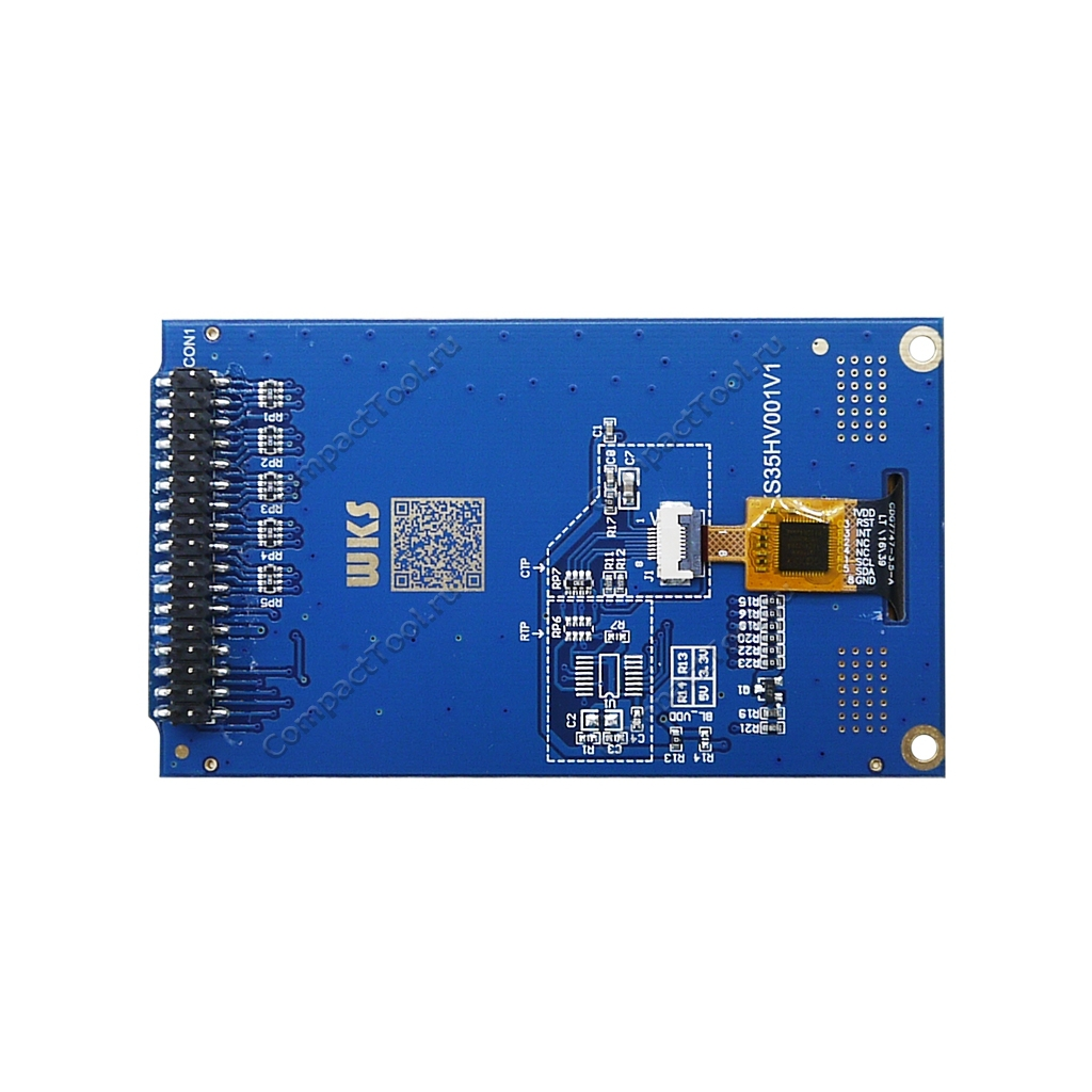 TFT дисплей 3.5 с сенсором параллельный интерфейс