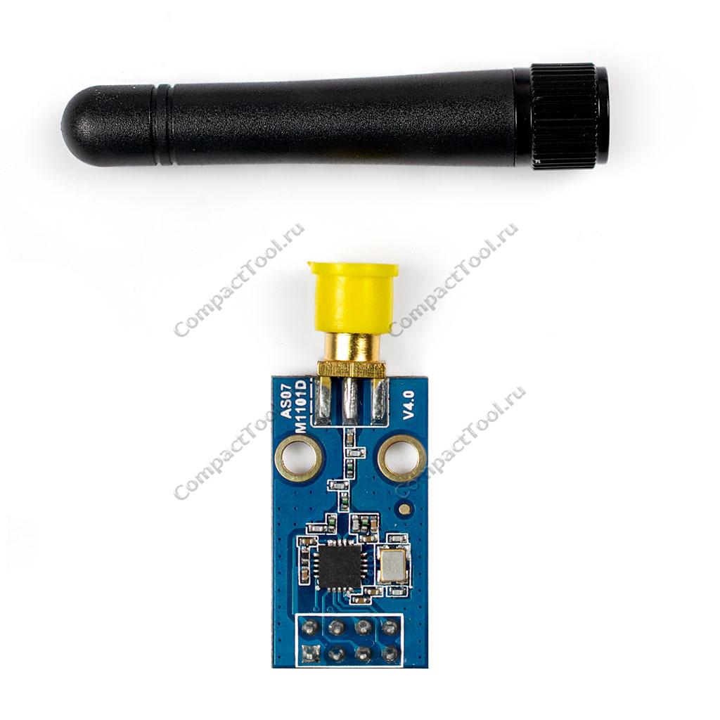 Беспроводный радиопередатчик 433 МГц  на чипе CC1101