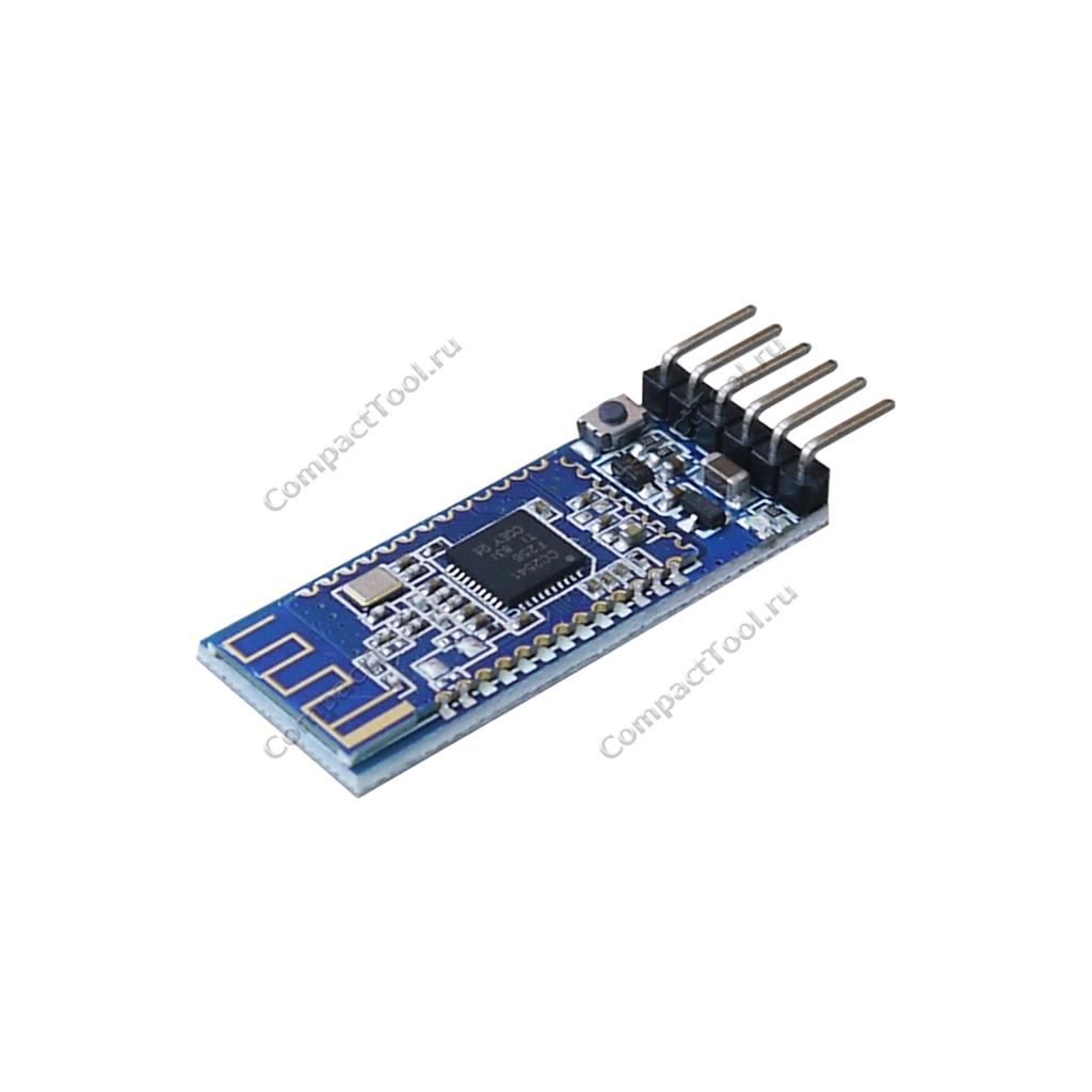 Модуль Bluetooth AT-09 с кнопкой на базе чипа  CC2541