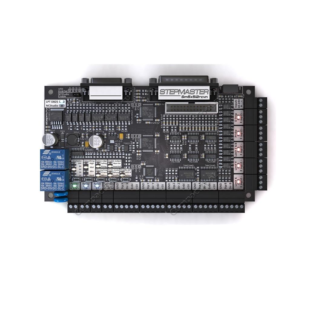 StepMaster ver 2.5 Интерфейсная плата для станков с ЧПУ