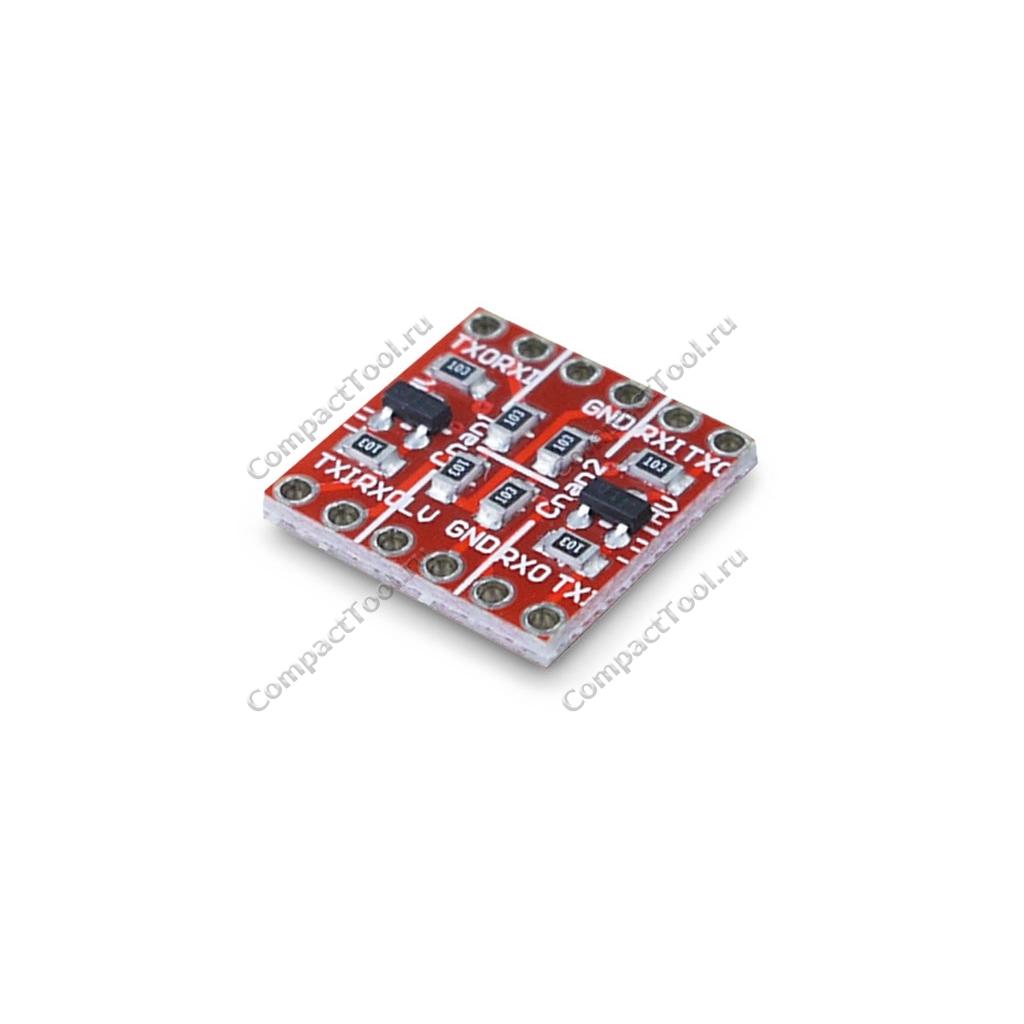 Преобразователь уровней IC 12C 5V to 3V двухканальный