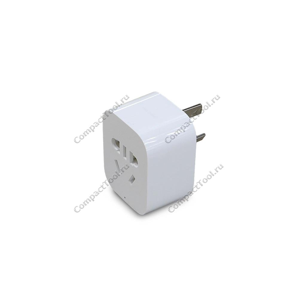 Умная WiFi розетка XIAOMI Mijia Smart Plug Socket Pro 2.0 white