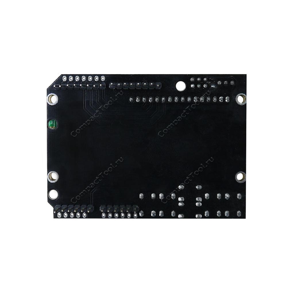 Дисплей символьный LCD1602 с синей подсветкой с кнопками