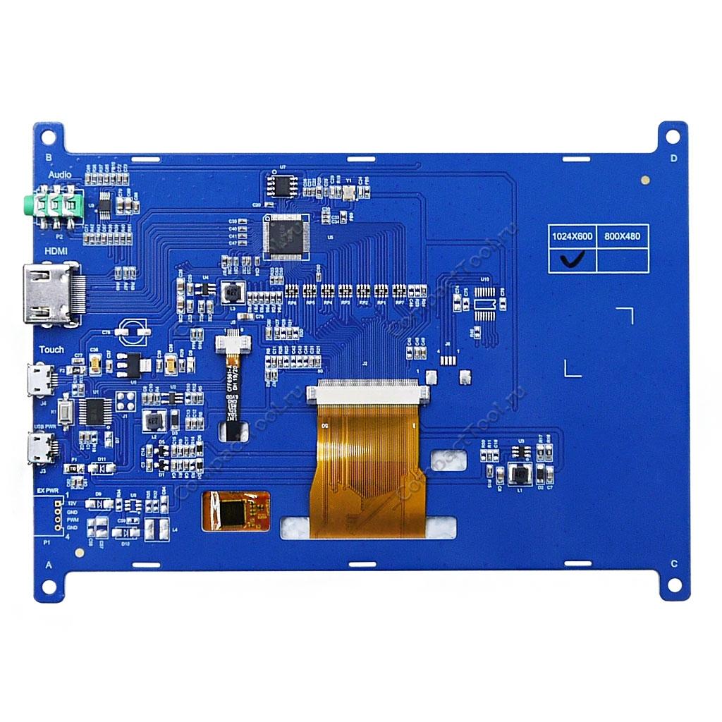 TFT дисплей 7 с сенсором USB HDMI AUX