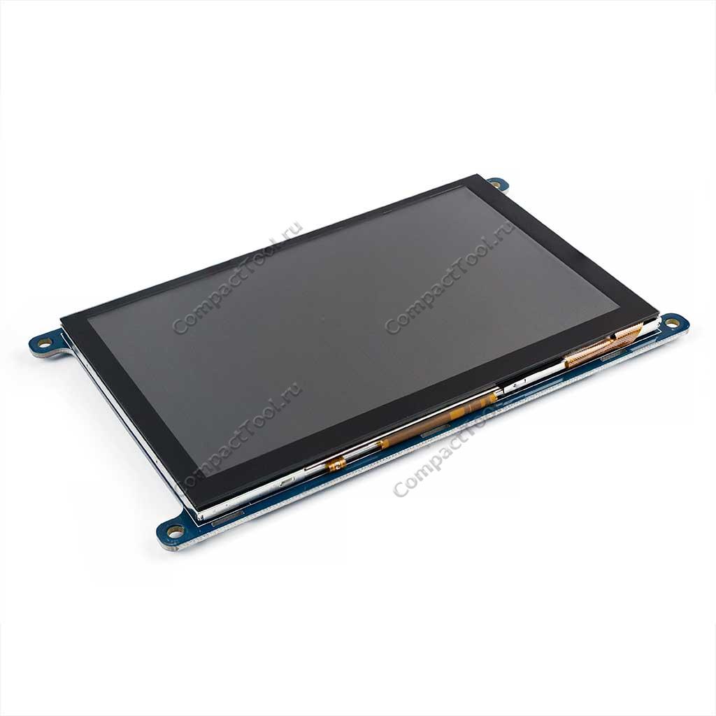 Экранный сенсорный модуль TFT LCD 5 дюймов 800RGBx480 c интерфейсом SPI/I2C WKS50WV009-WCT