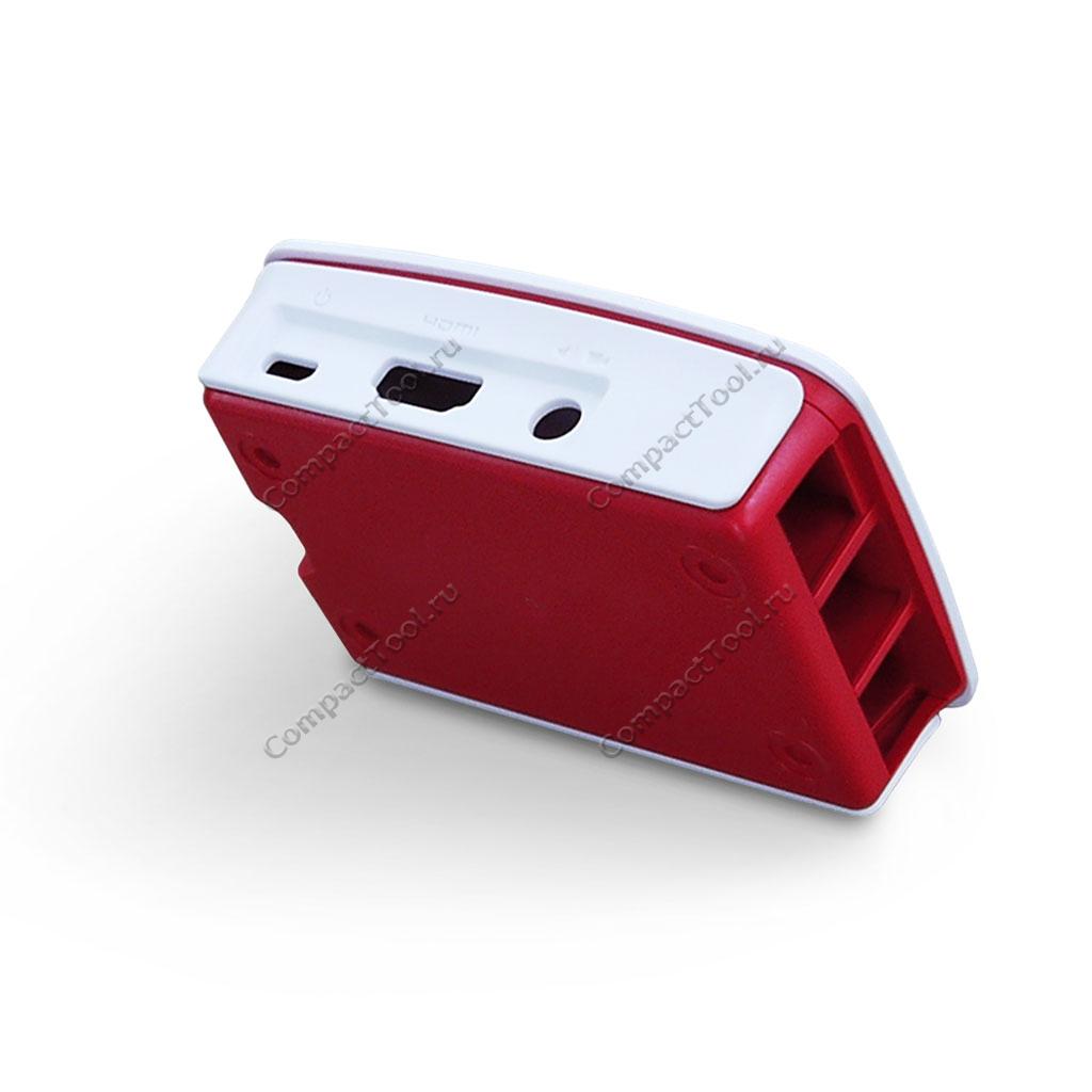 Корпус из АБС-пластика для Raspberry Pi 3 модель В/B+ красно-белого цвета