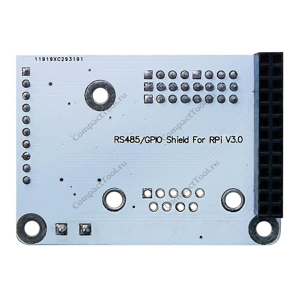 RS-485/GPIO для Raspberry Pi
