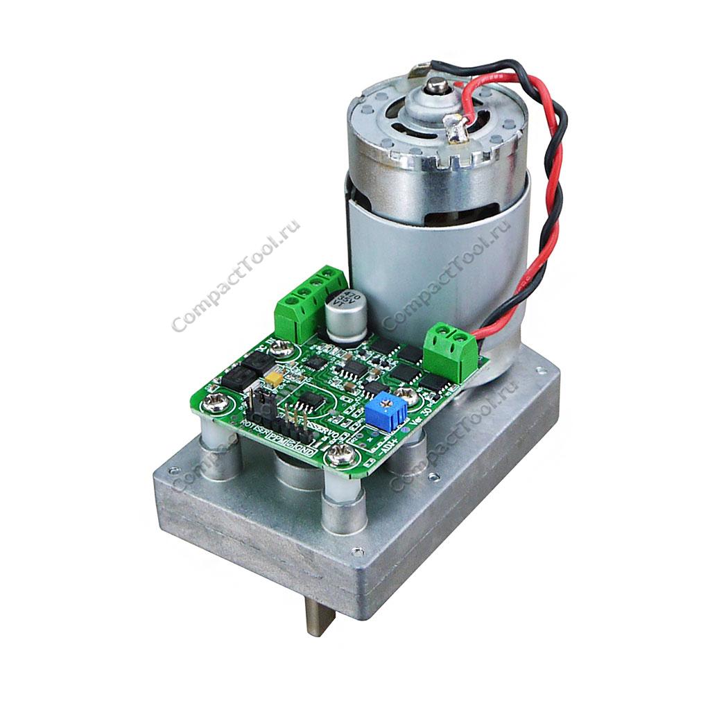 Сервопривод с металлическим редуктором 380кг 24V 9000 об/мин