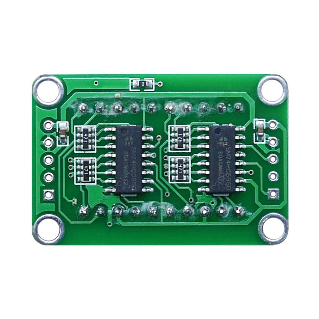 Дисплей 2-символьный семисегментный на 74HC595