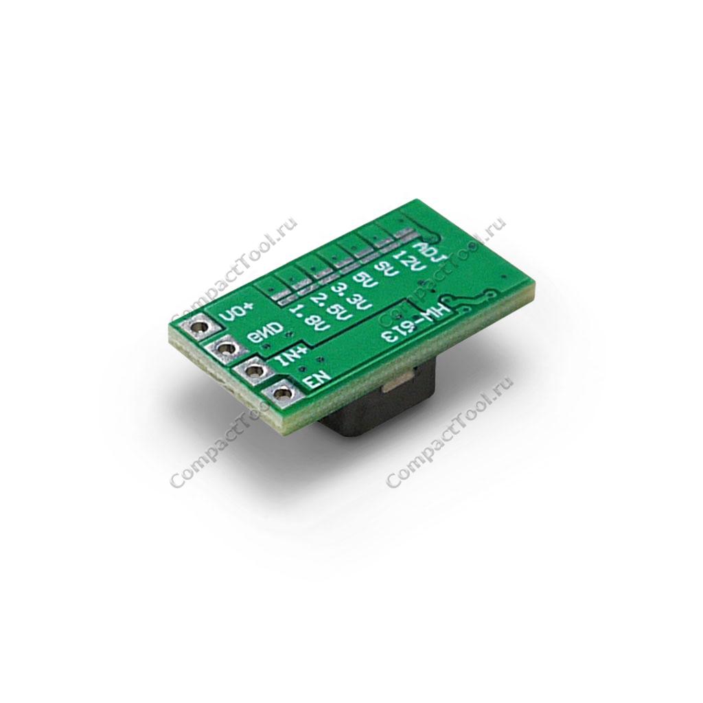 DC-DC Преобразователь понижающий синхронный MP2315 c фиксированным/регулируемым выходом
