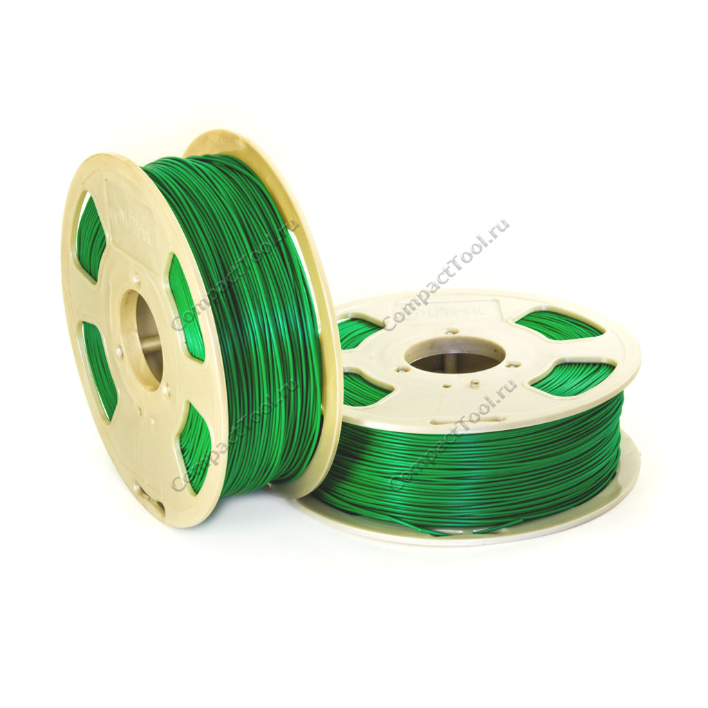 Geek Filament PLA. JUST GREEN / ПРОСТО ЗЕЛЕНЫЙ / 1.75