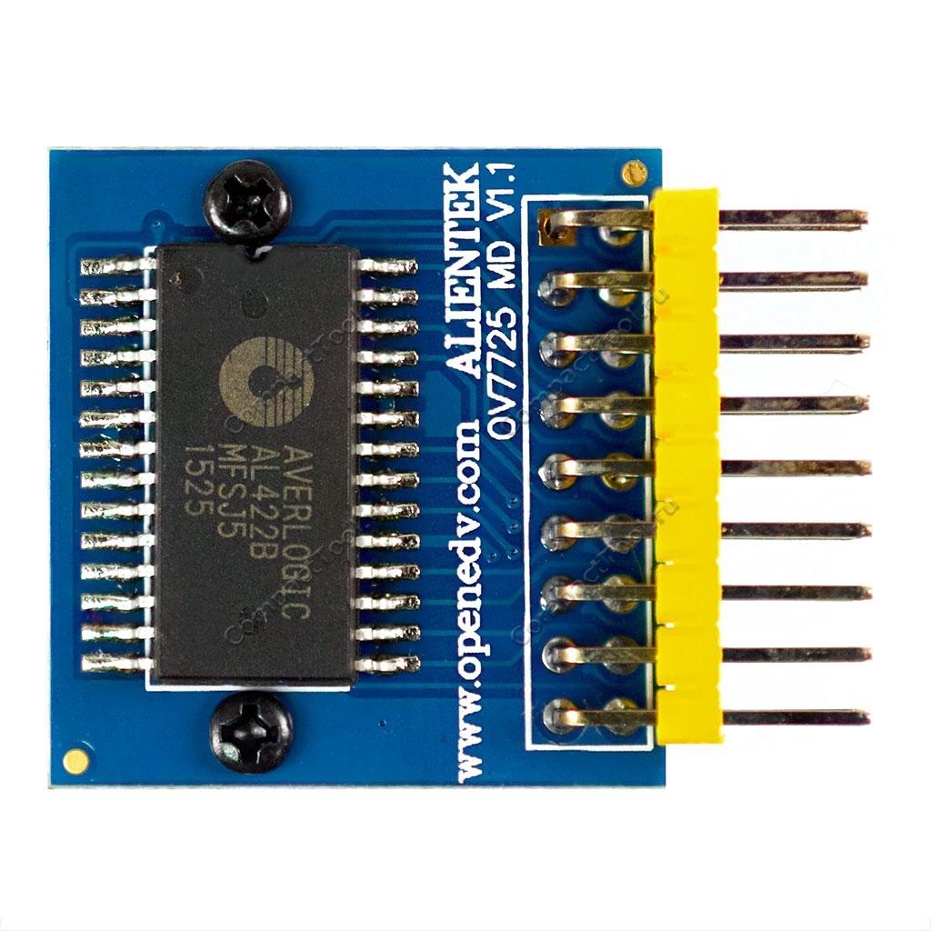 Модуль камеры OV7725 с драйвером FIFO AL422B