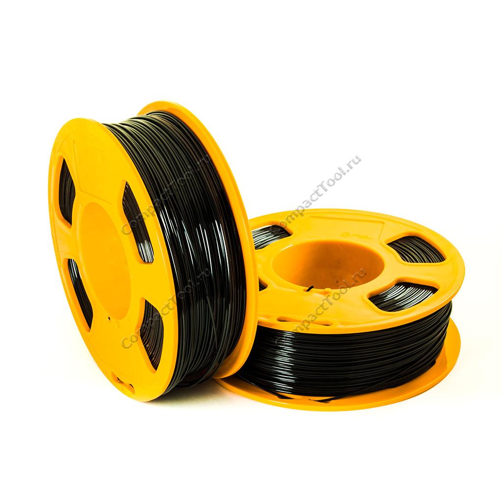 Geek Filament PETG. Anthracite / Черный / 1.75 мм