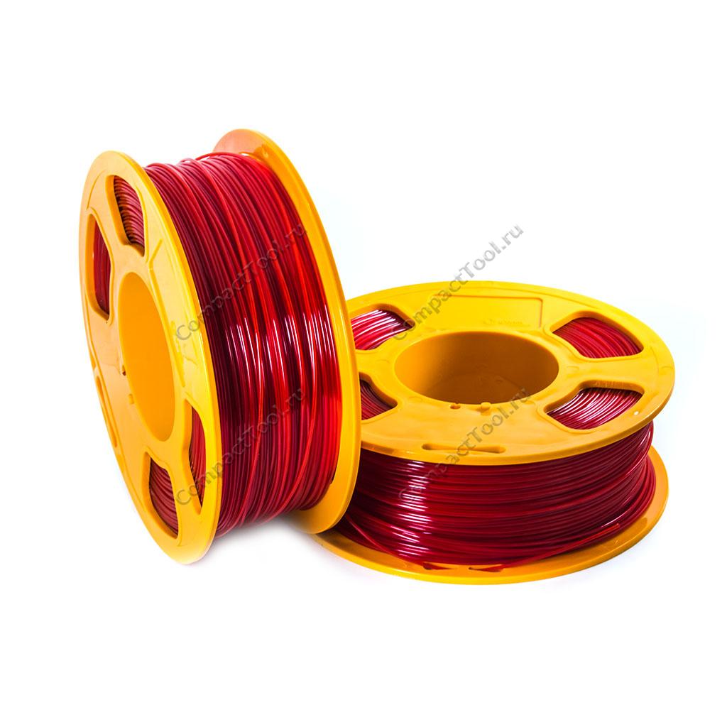 Geek Filament PETG JUNIOR. RED MATTE / КРАСНЫЙ / 1.75 мм