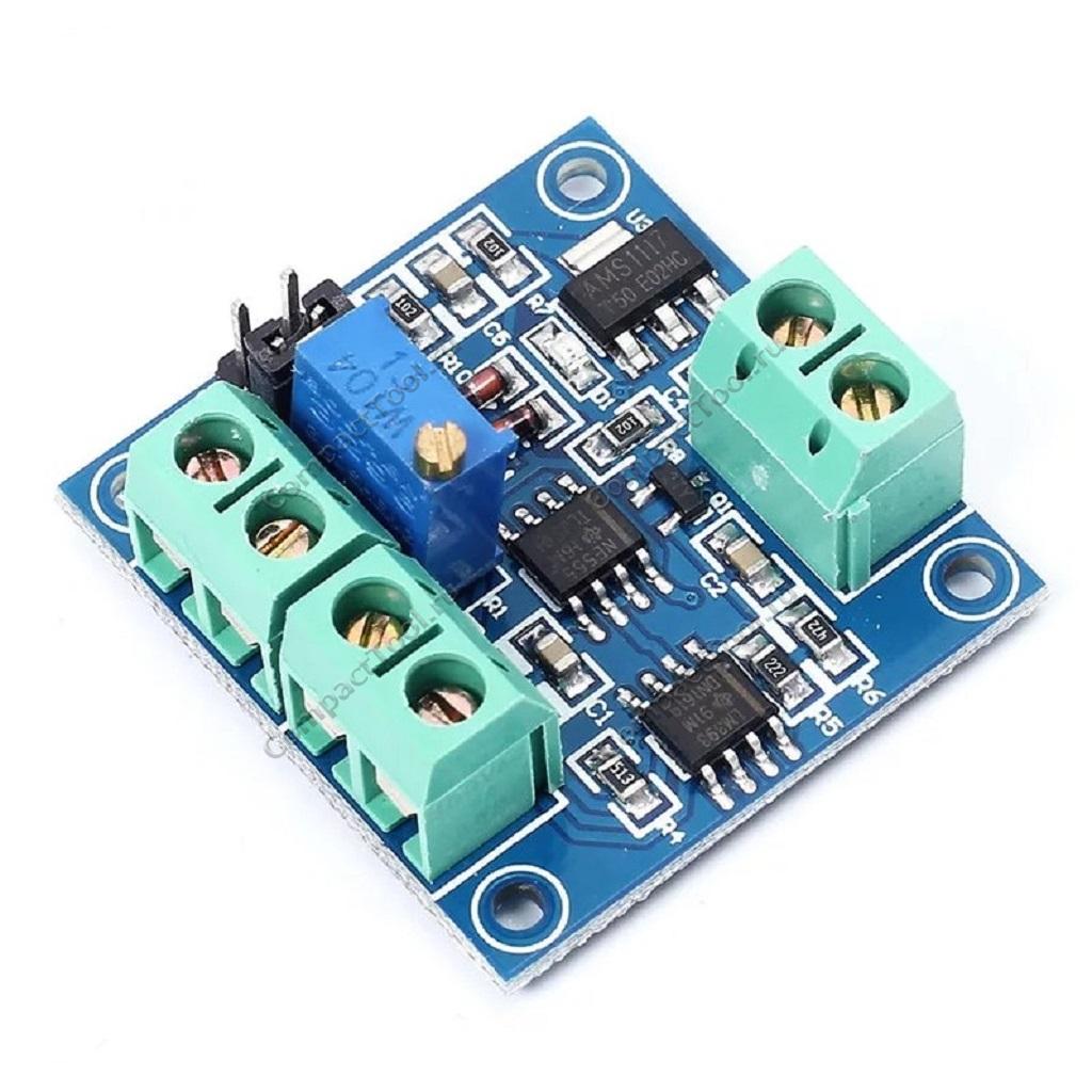 Модуль преобразования напряжения в сигнал ШИМ 0-5В / 0-10В в выходное напряжение ШИМ 0-100%