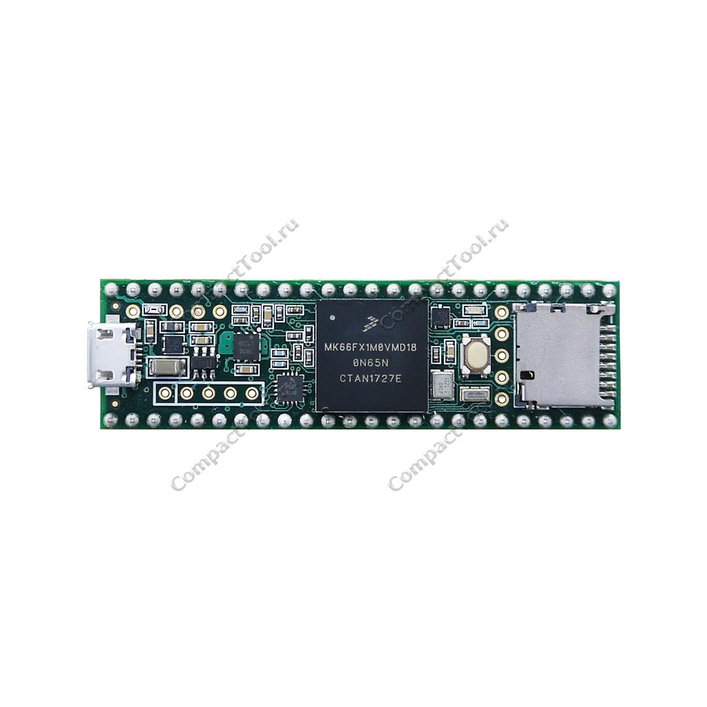 Teensy 3.6 на микроконтроллере MK66FX1M0 с коннекторами