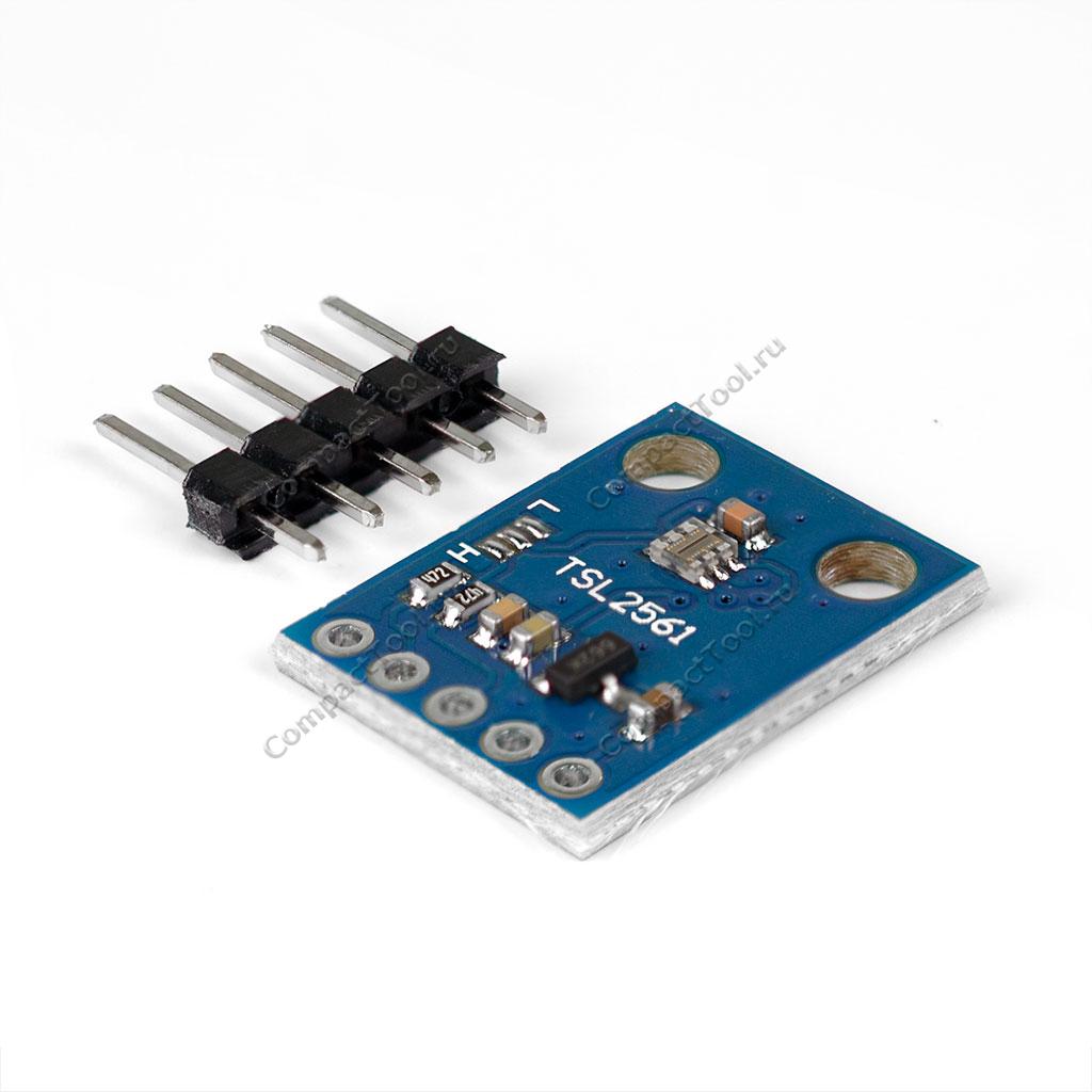 Датчик освещенности цифровой GY-2561 (TSL2561)