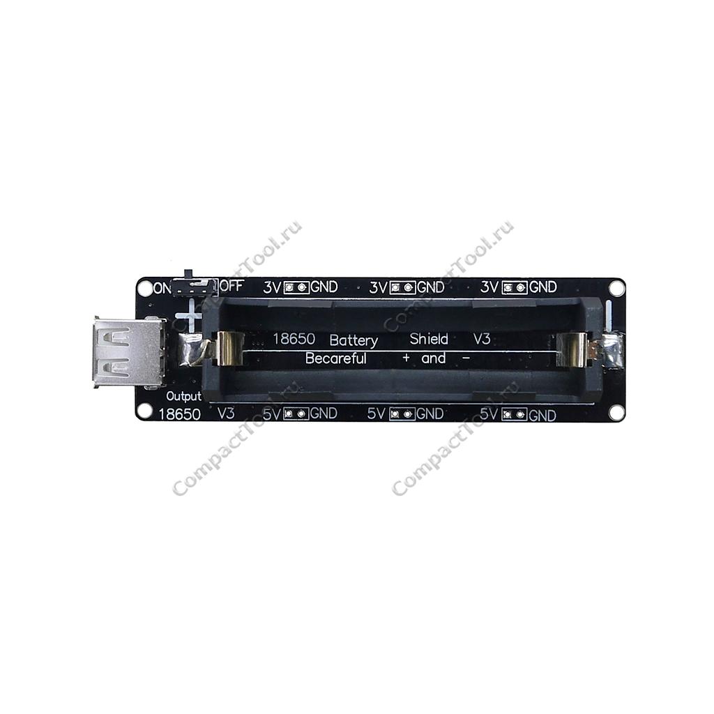 WeMos Модуль питания на аккумуляторе Li-Ion 18650
