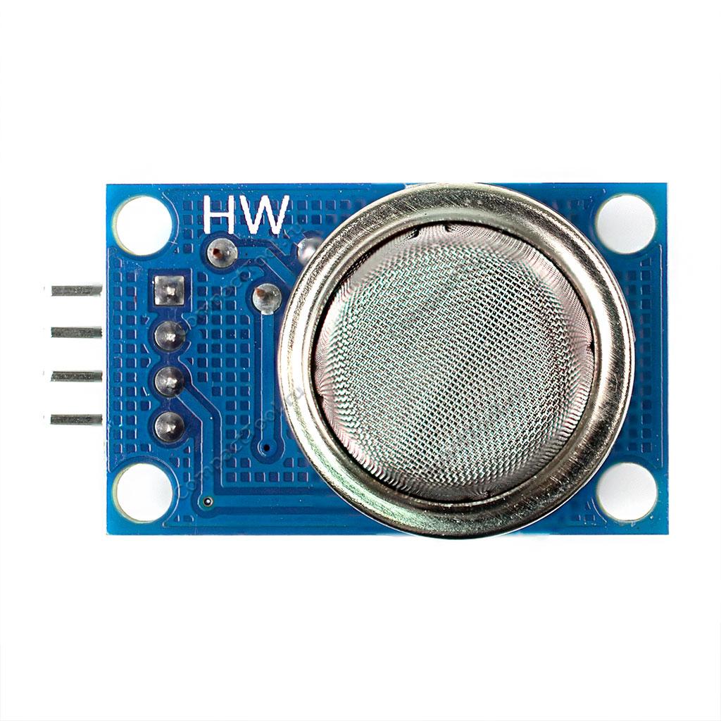 Датчик газа MQ-2 для Arduino (углеводородные газы, дым)
