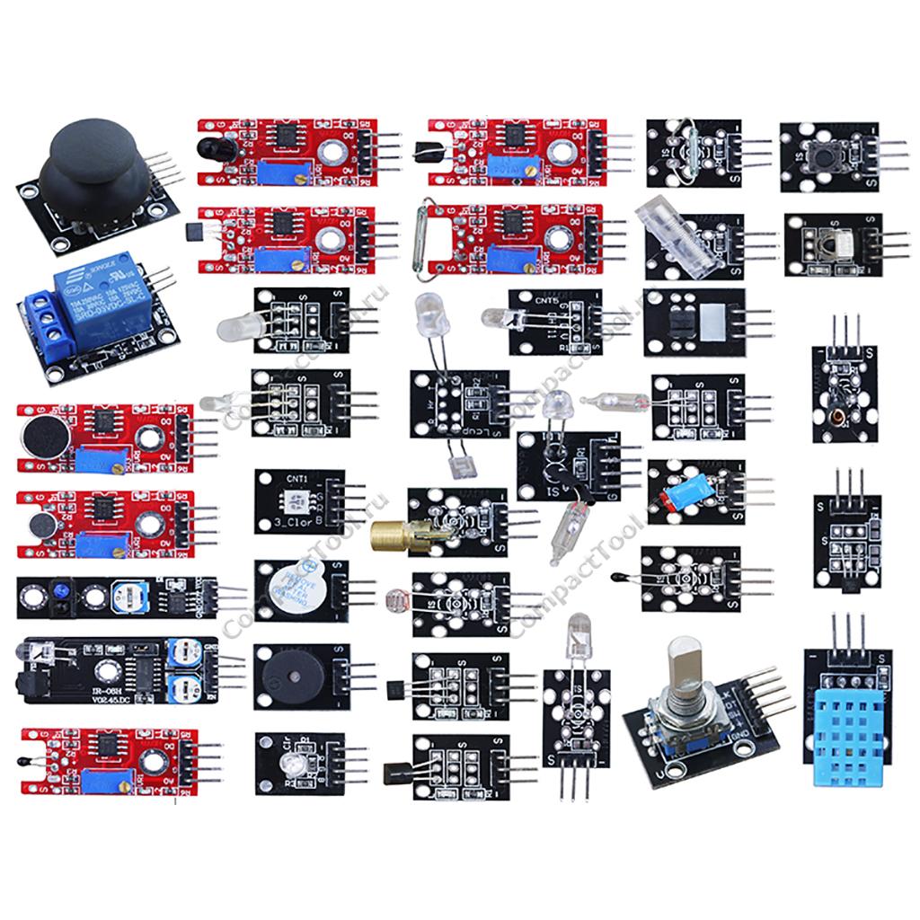 Электронный конструктор ARDUINO 37 сенсоров