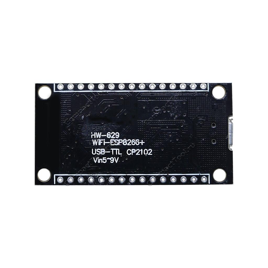 WiFi контроллер ESP8266 WeMos NodeMCU 4Мб на чипе CP2102