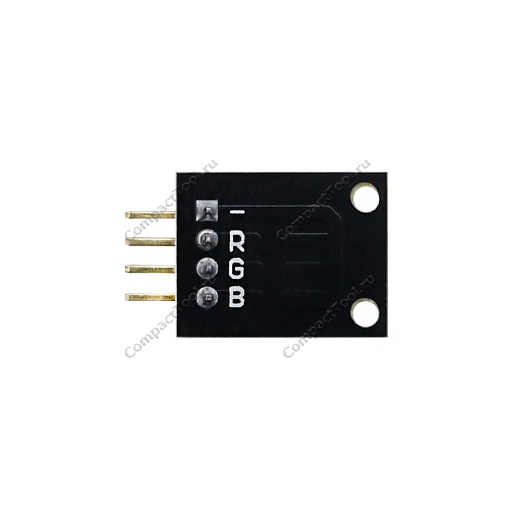 Трехцветный RGB светодиодный модуль LED SMD KY-009