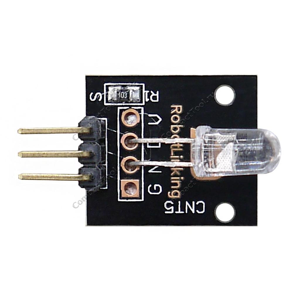 Семицветный RGB светодиодный модуль LED DIP KY-034