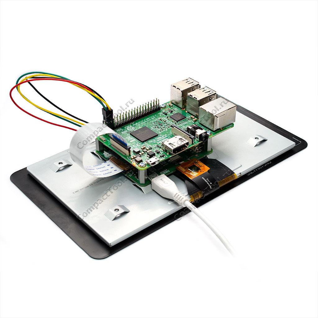 Дисплей Raspberry Pi 7